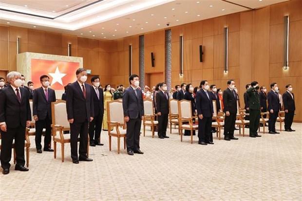El ser humano debe ser el centro del desarrollo, afirma premier vietnamita hinh anh 3