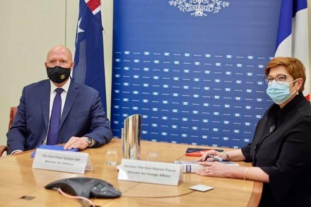 Francia y Australia critican acciones que aumentan tension en el Mar del Este hinh anh 1