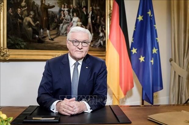 Alemania continua intensificando la cooperacion con Vietnam, afirma su presidente hinh anh 1
