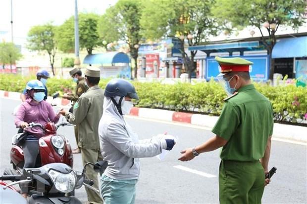 Primer Ministro de Vietnam realiza inspeccion remota de labores preventivas de COVID-19 hinh anh 1