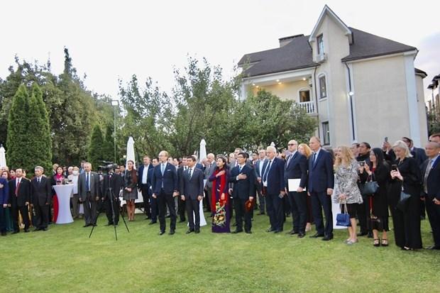 Embajada de Vietnam en Ucrania celebra el Dia Nacional hinh anh 1