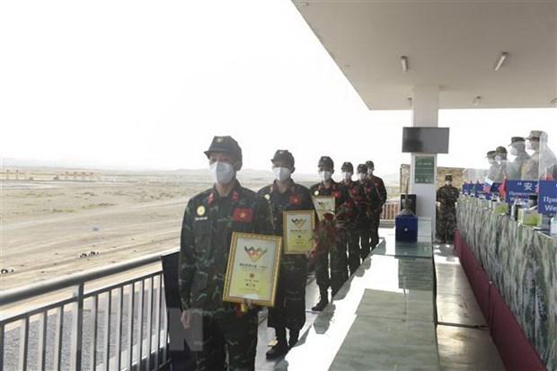Delegacion del Ejercito Popular de Vietnam deja gran impresion en Army Games 2021 hinh anh 1