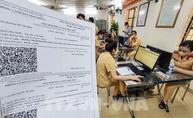 Hanoi aplicara nuevos permisos de traslado para sus pobladores hinh anh 1