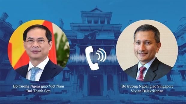 Vietnam saluda apoyo de Singapur en lucha antiepidemica hinh anh 1