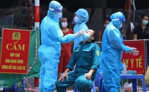 Hanoi se esfuerza por controlar situacion epidemica antes del 15 de septiembre hinh anh 1