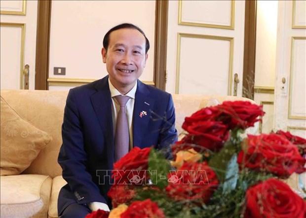 Destacan significado de gira del presidente del Parlamento vietnamita por la UE hinh anh 2