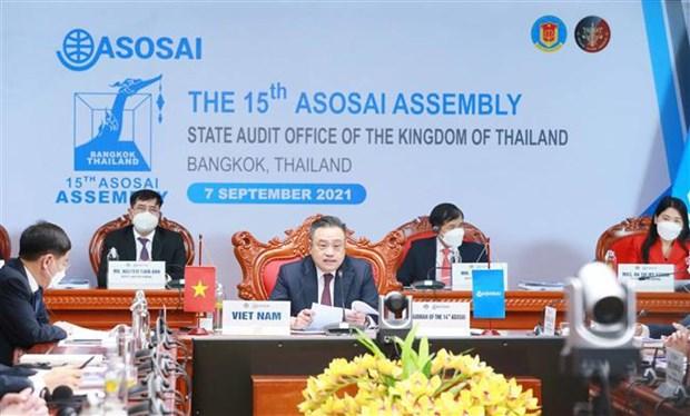 Exitoso desempeno de Vietnam como presidente de ASOSAI 2018-2021 hinh anh 1