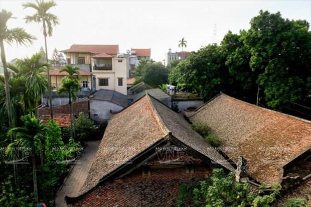 Exploran rasgos antiguos de Hanoi en la aldea de Dong Ngac hinh anh 1