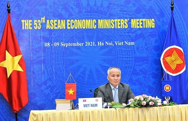 Adopta ASEAN hoja de ruta sobre transformacion digital hinh anh 1