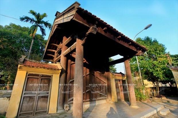 Exploran rasgos antiguos de Hanoi en la aldea de Dong Ngac hinh anh 3