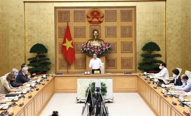 Exito de las empresas de IED es tambien de Vietnam, afirma primer ministro hinh anh 1