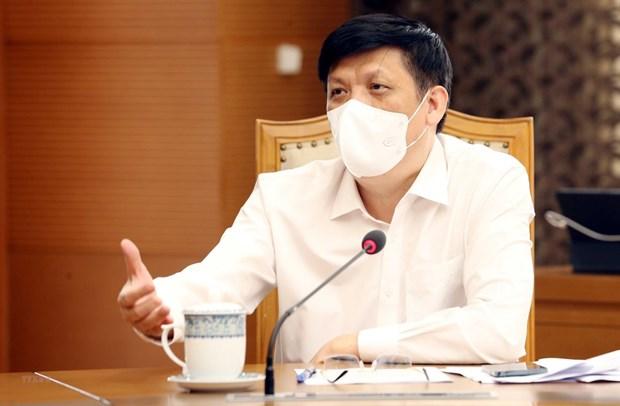 Vietnam y China intercambian experiencias en combate contra el COVID-19 hinh anh 1