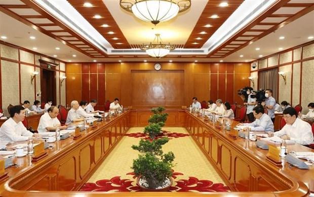 Maximo dirigente partidista de Vietnam exige reforzar labores anticorrupcion hinh anh 2