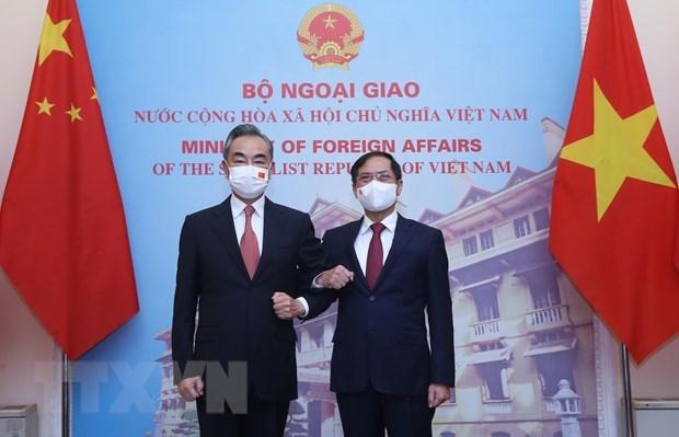 Vietnam y China fortalecen asociacion de cooperacion estrategica integral hinh anh 1