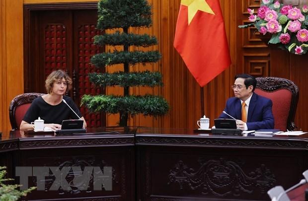Inversores neerlandeses se interesan en cooperacion portuaria y logistica en Vietnam hinh anh 1