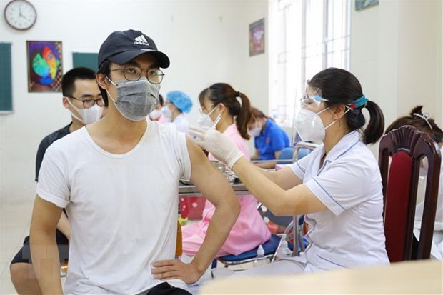 Region china apoya la lucha contra el COVID-19 en localidades vietnamitas hinh anh 1