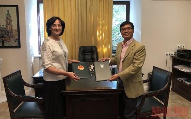 Fortalecen Vietnam y Ucrania cooperacion en educacion hinh anh 1