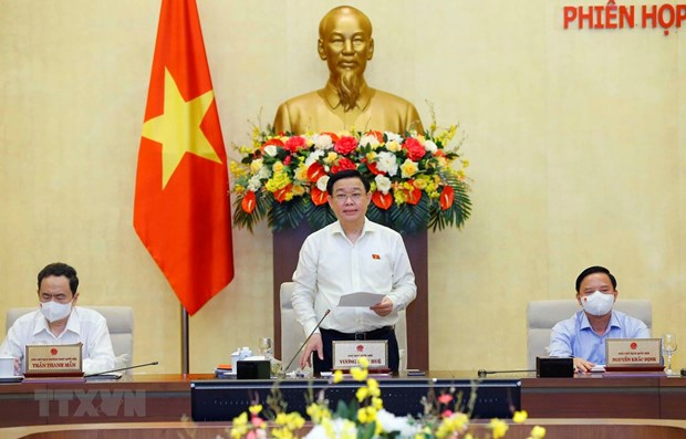 Inauguraran tercera reunion del Comite Permanente del Parlamento vietnamita hinh anh 1