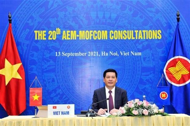 ASEAN y socios debaten la recuperacion pospandemica hinh anh 1