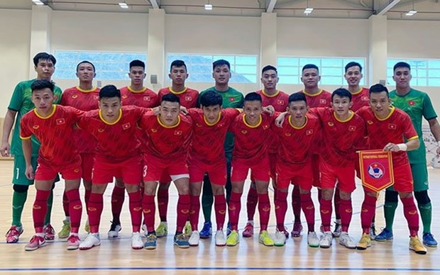 Seleccion vietnamita de futbol sala lista para debutar en el Mundial 2021 hinh anh 1