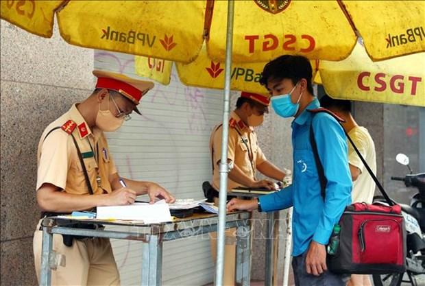 Hanoi instala camaras de escaneo de codigos QR para control pandemico del COVID-19 hinh anh 1