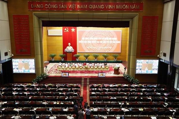 Exigen promover papel central de agencias de asuntos internos de Vietnam hinh anh 2