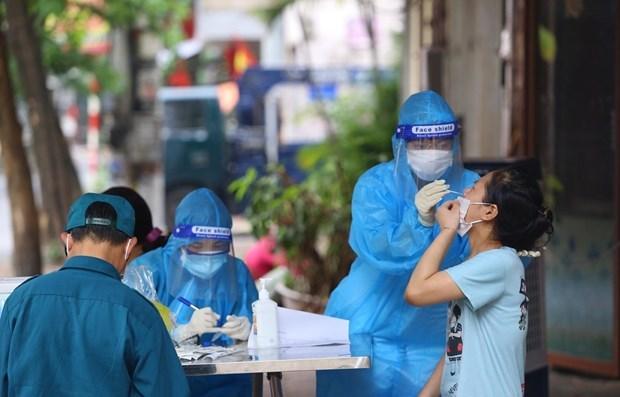 Hanoi registra otros 11 casos positivos del COVID-19 hinh anh 1