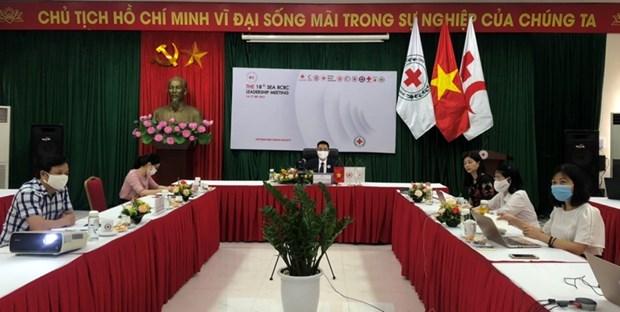 Proponen Vietnam medidas para mejorar actividades de la Cruz Roja regional hinh anh 1