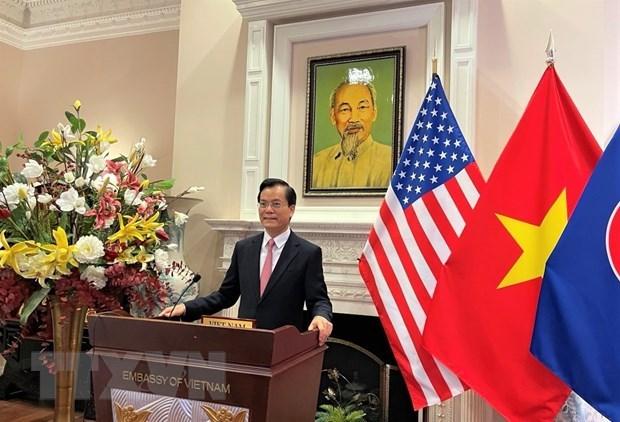 Destacan apoyo mutuo entre Vietnam y Estados Unidos en contexto del COVID-19 hinh anh 1