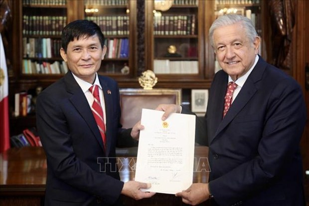 Concede Mexico gran importancia a la amistad y cooperacion con Vietnam hinh anh 1