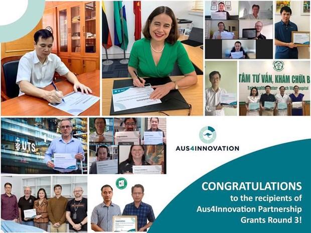 Australia financia cuatro proyectos de transformacion digital en Vietnam hinh anh 1