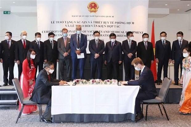 Fomentan cooperacion Vietnam-UE en sectores del comercio, inversion y agricultura hinh anh 1