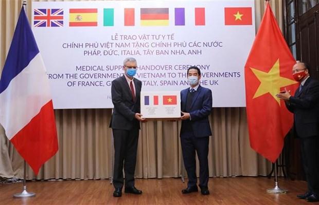 Embajador vietnamita en Francia valora desarrollo de relaciones bilaterales hinh anh 1