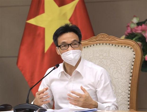 Exigen estricta implementacion del distanciamiento social en areas de alto riesgo en Vietnam hinh anh 2