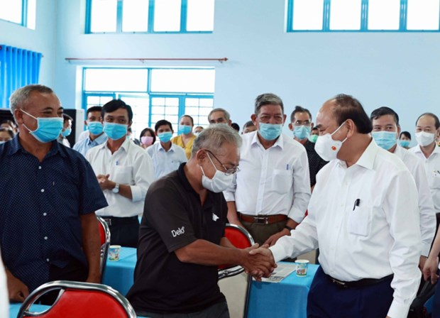 Instan a Ciudad Ho Chi Minh a no dejar a nadie atras en la pandemia hinh anh 2