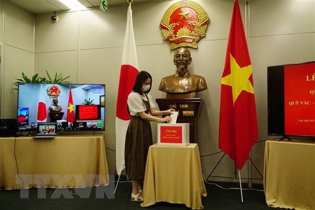 Mas apoyo para el Fondo Nacional de Vacunas de Vietnam hinh anh 1