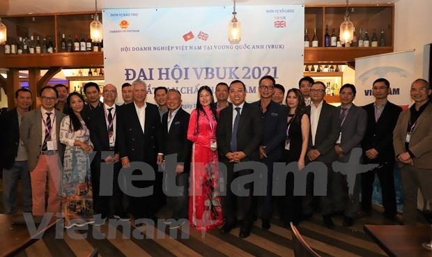 Empresas vietnamitas en Reino Unido apoyan lucha contra el COVID-19 en su pais de origen hinh anh 1