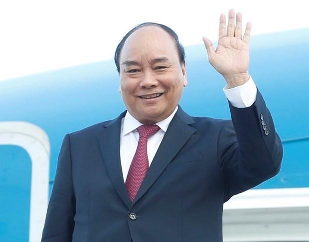 Presidente de Vietnam parte rumbo a Cuba para visita oficial hinh anh 1