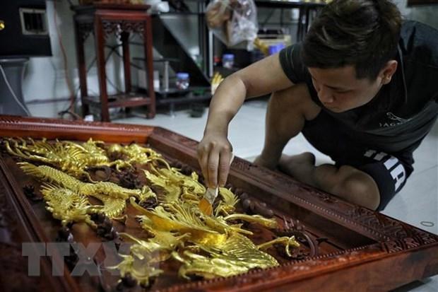 Aldeas de oficios tradicionales en Hanoi recuperan sus actividades de produccion hinh anh 2