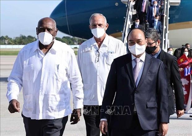 Presidente de Vietnam inicia su visita oficial a Cuba hinh anh 2
