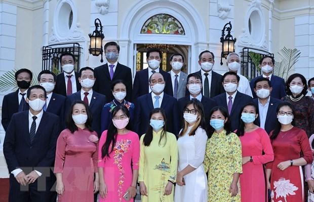 Presidente vietnamita destaca relaciones de amistad con Cuba hinh anh 2