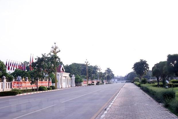 Bloquean varios distritos en capital de Laos por el COVID-19 hinh anh 1