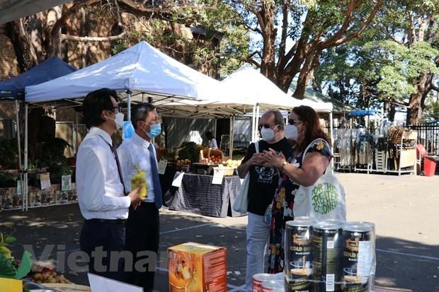 Presentan productos agricolas vietnamitas en Australia hinh anh 1