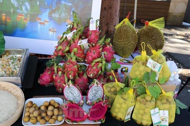 Presentan productos agricolas vietnamitas en Australia hinh anh 2