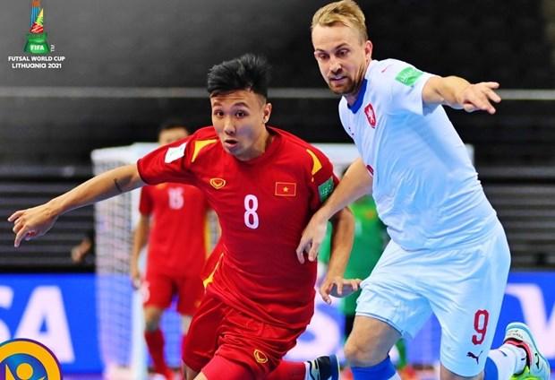 Vietnam avanza a los octavos de la Copa Mundial de Futsal hinh anh 1