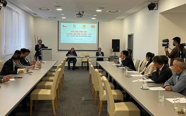 Promueven lazos comerciales y de inversion entre Vietnam y la Republica Checa hinh anh 1