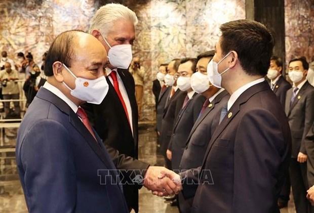 Partidos Comunistas de Vietnam y Cuba fomentan lazos en campo de relaciones exteriores hinh anh 1