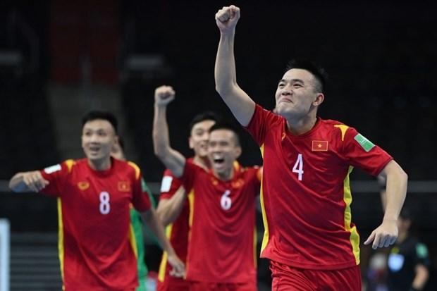 Vietnam avanza a los octavos de la Copa Mundial de Futsal hinh anh 3