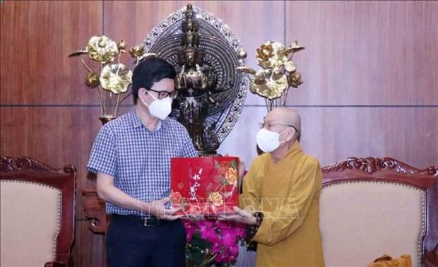 Valoran aportes de Sangha Budista de Vietnam a lucha contra el COVID-19 hinh anh 2
