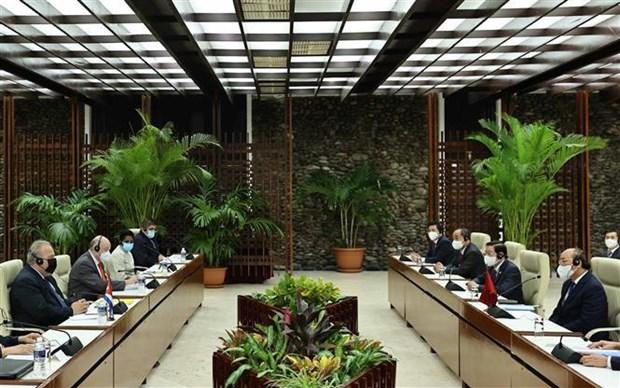 Consolidan Vietnam y Cuba cooperacion en diversos sectores hinh anh 2